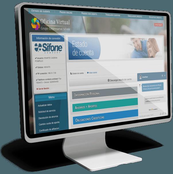 Oficina Virtual y Banca Solidaria